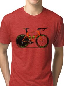 Time Trial Bike Tri-blend T-Shirt