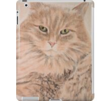 Sebby, the cat from Wolverine iPad Case/Skin
