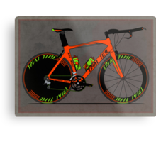 Time Trial Bike Metal Print