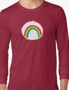 Cheerbear - Carebears - Cartoon Logo Long Sleeve T-Shirt