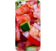 Vegetable salad / Arabic Salad iPhone Case/Skin