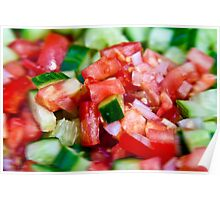 Vegetable salad / Arabic Salad Poster