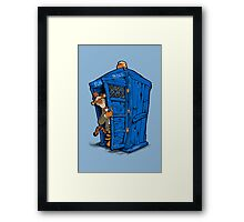 It's Tigger on the Inside Framed Print