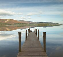 Ashness Jetty by Brian Kerr