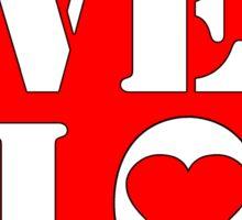 VELO / LOVE STICKER Sticker