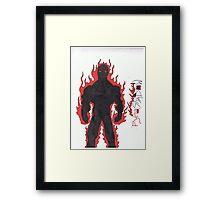 PyroShadow Framed Print