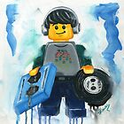 Lego Dj. by Deborah Cauchi