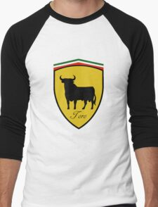 Ferrari Bull/Toro Men's Baseball ¾ T-Shirt
