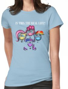 Pony Rhapsody (with text) Womens Fitted T-Shirt