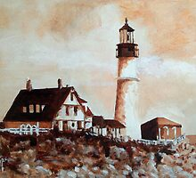 Portland Head Light by Jim Phillips
