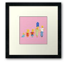 Simpsons Framed Print