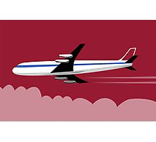 Commercial Jet Plane Airline Retro Photographic Print