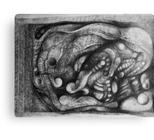Foraging Animal. Canvas Print