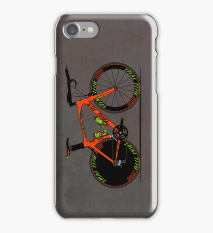 Time Trial Bike iPhone Case/Skin