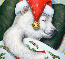 Christmas Eve Bear by Rembrant