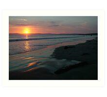 Rossnowlagh Beach Sunset Art Print
