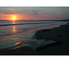 Rossnowlagh Beach Sunset Photographic Print