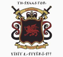 Thankks for Visit Latveria!! Kids Tee