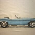 e type roadster by Peter Brandt