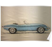 e type roadster Poster
