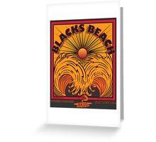 BLACKS BEACH Greeting Card