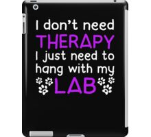 Hang With My Lab iPad Case/Skin