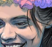 Flower Crown Harry Sticker