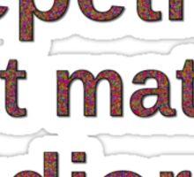 Repetitio est mater studiorum Sticker