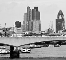 City of London by Mehdi K