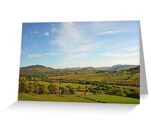 The Bluestack Mountains Greeting Card