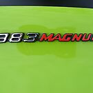 Dodge Challenger R/T 383 Magnum Badge  by Russell Voigt