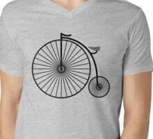 High Wheeler / Penny Farthing Tee Mens V-Neck T-Shirt