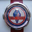 Ford Mustang GT 350 Badge  by Russell Voigt
