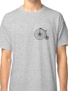 High Wheeler / Penny Farthing Tee (Small logo) Classic T-Shirt