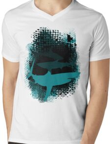 Infested Waters Mens V-Neck T-Shirt