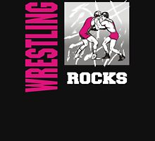 Wrestling Rocks Unisex T-Shirt