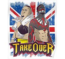 Demon Finn vs. Joe NXT TakeOver London Poster