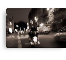Paris by Night Canvas Print