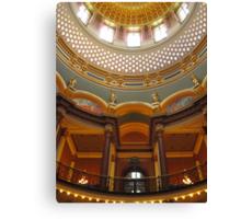 Iowa State Capital Building Canvas Print