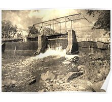 Old Dam Poster
