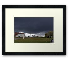 Gloom of nature Framed Print