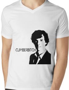 Cumberbitch (detail)  Mens V-Neck T-Shirt