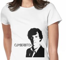 Cumberbitch (detail)  Womens Fitted T-Shirt
