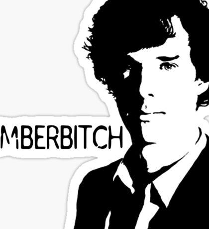 Cumberbitch (detail)  Sticker