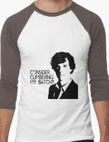 Consider cumbering my batch?  Men's Baseball ¾ T-Shirt