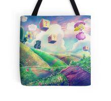 Princess Peach Landscape Tote Bag