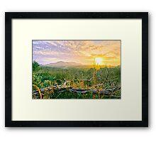Sweet Kiss of the Sun - Byron Bay Framed Print