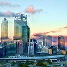 My Rainbow City by Ladyshark
