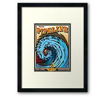 BANZAI PIPELINE Framed Print