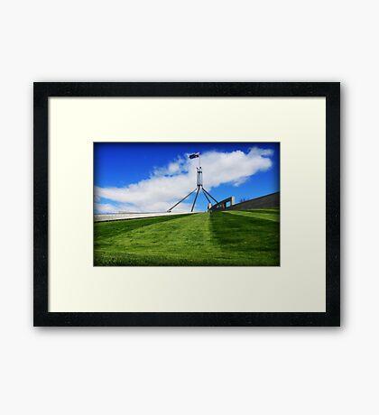 Capital Hill  Framed Print